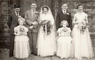 Rita (Leveson) & Ken Brankling Wedding