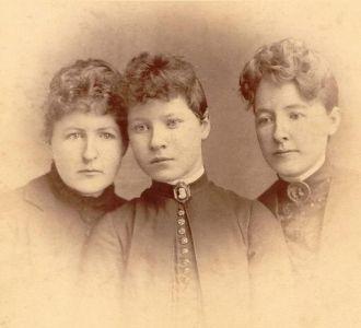 Sisters Margaret, Marthena, and Clara Kerr