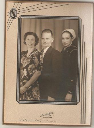 Virtuel, Finley, & Robert Beard, Oregon 1940