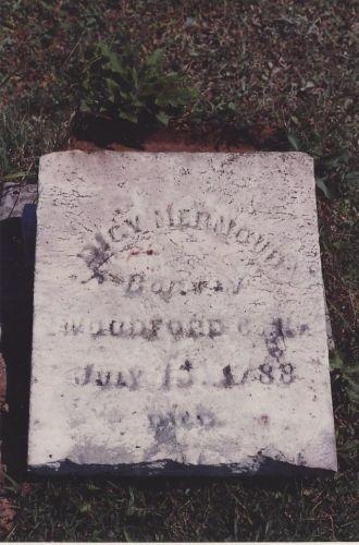 Dicy (Crowder) Mermoud's headstone