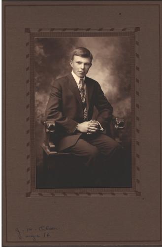 J.M. Olson, Age 16