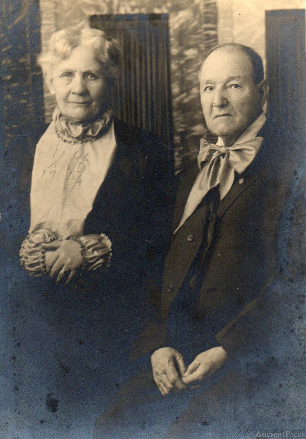 Pvt. William and Sarah McStotts