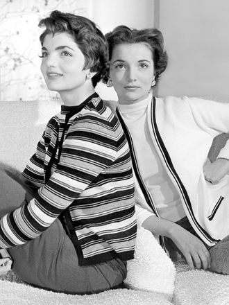Lee Bouvier and Jackie (Bouvier) Kennedy