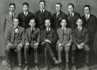 1922 Berkeley Irving College Prep School - New York Tau Alpha Tau Society