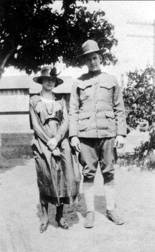 Myrtle Bethurum & Charlie Karlen, 1919