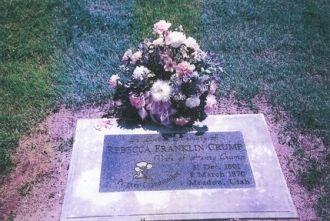 Rebecca Franklin gravestone