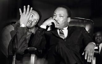 Jesse Jackson with Martin Luther King