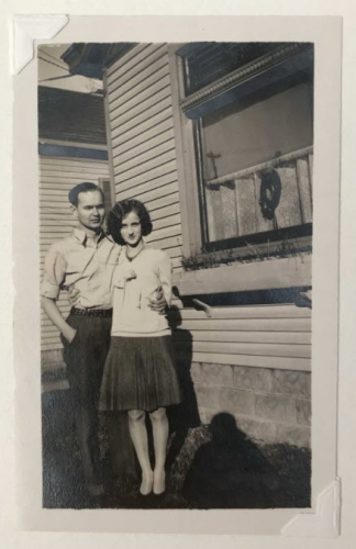 Joe and Marion Toohey at home in Latonia