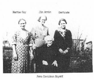 Bryant Girls & Mother