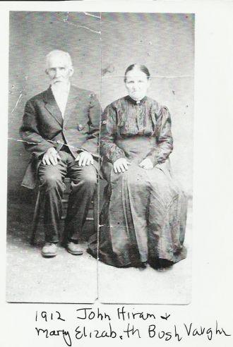 Mary Elizabeth & John Hiram Vaughn