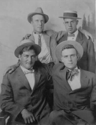 Sam & Amos Binkley, Elza Bowsher, Charlie Mills