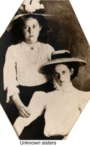Two unknown sisters