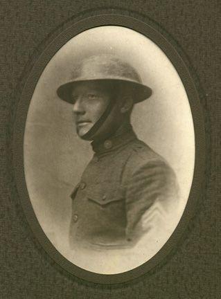 Sargent Chester Clay William, World War I Portrait