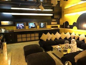 Elvis Presley's TV Room - Graceland