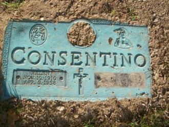 Helen & Samuel Consentino Gravestone