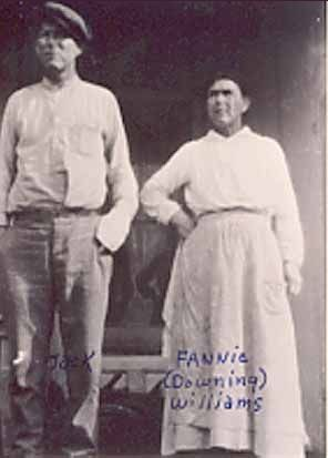 A photo of Fannie Downing/Williams