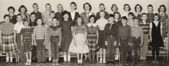 Garrison School 1958-59 4th Grade, named
