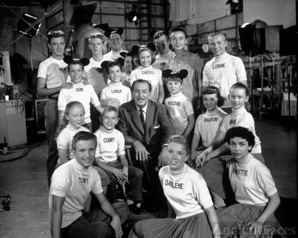 The Mickey Mouse Club 1950's