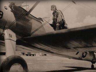 Virgil Ellis Tremblay & plane