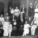 David P & Louemma (Long) Keister Family, 1910