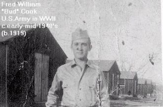 Fred W. Cook in WWII