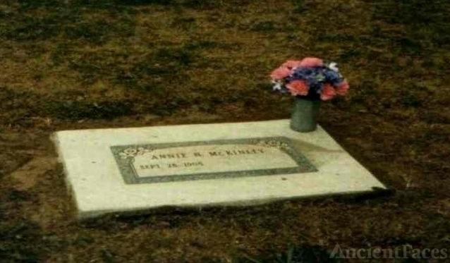 Annie Nettie Norvell McKinley's Headstone