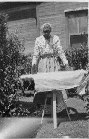 Patsy Moses, ex-slave, Waco
