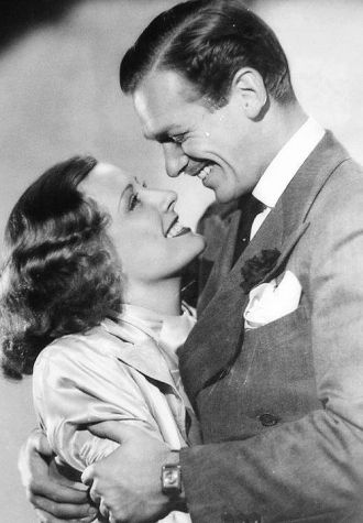 Douglas Elton Fairbanks Jr. and Irene Dunne