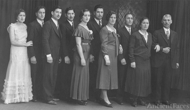 Bruno & Teresa Filice with 8 children
