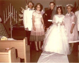 Frank & Virginia Comstock Wedding