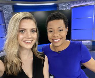 Brigit Mahoney & Kim Hudson on FOX 2 News (2020)