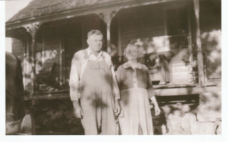 My Great, Great Grandparents: Lonnie Monroe Thornton and Mary Ellen Barker Thornton.