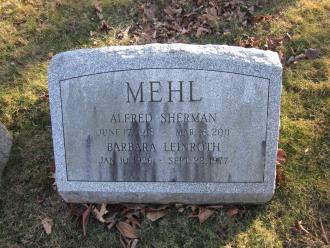 Alfred Sherman Mehl