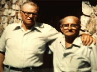 Bodishbaugh brothers Norman and Jack