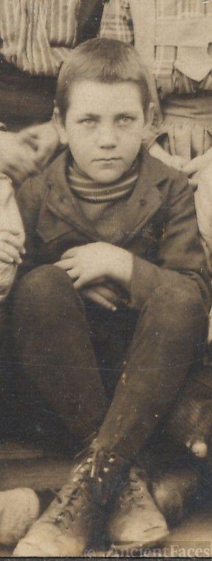 George Mays, school boy