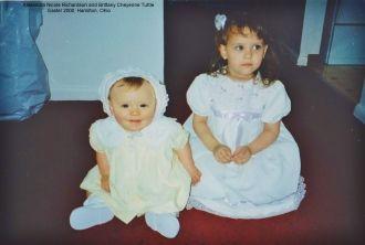 Alexandra Richardson and Brittany Tuttle