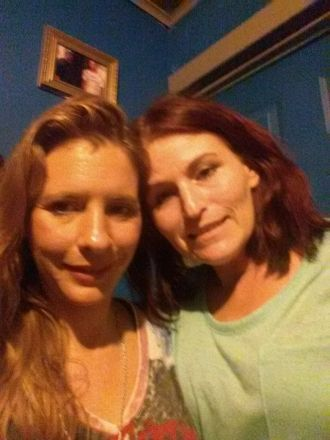 Heather Auler and Patty Parker