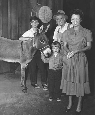 Tommy Rettig & Lassie Cast