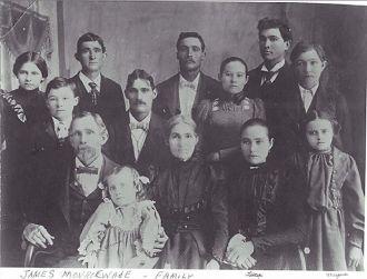 James Monroe WADE Family