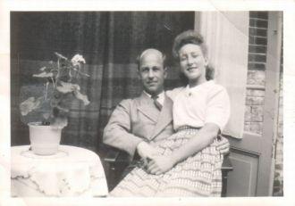 Jan de Lang met Annie Janszen