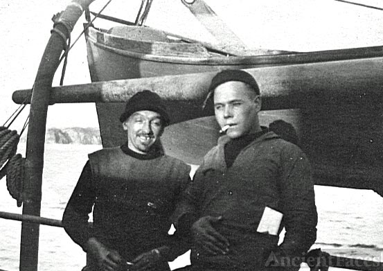 George Benning and friend Barney