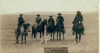 Cowboys 1887 Wyoming