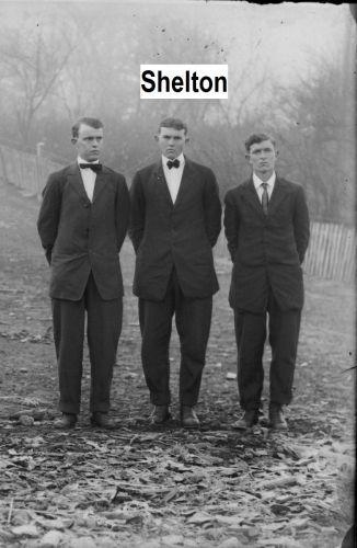 Unknown Shelton men, Tennessee