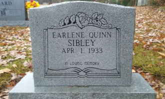A photo of Earlene (Quinn) Sibley