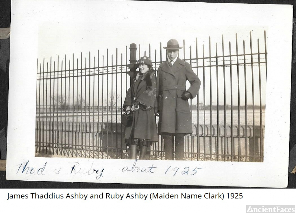 James and Ruby (Clark) Ashby