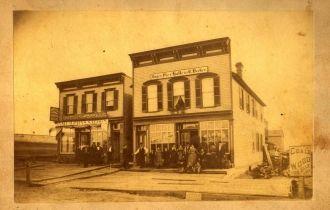 Becker Tavern, Illinois 1880's