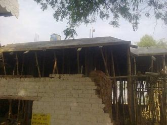 Dubey | making of new house