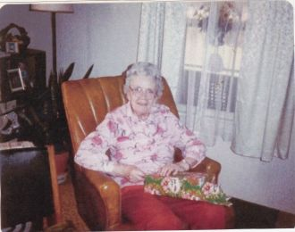 A photo of Pearl (Perry) Sherrill