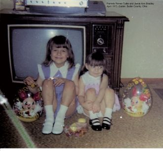 Pam Tuttle and Jamie Bradley, 1973