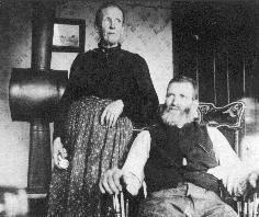 John & Mary McLean, 1890 SD